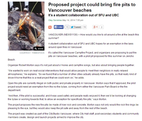 News1130_Campfire project