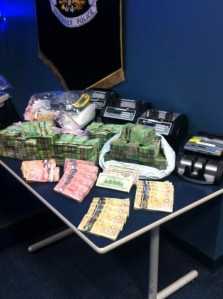 Vancouver police found several hundred thousand dollars cash as a result of search warrant execution (Olsy Sorokina/BCIT News)